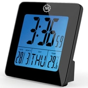 Marathon Watch Company Desk Clock; Black