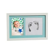 Evergreen Enterprises, Inc Baby Picture Frame Ink Imprint Kit; Blue