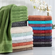 Simple Luxury Superior Hand Towel (Set of 6); Black