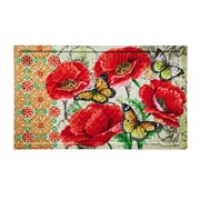 Evergreen Enterprises, Inc Floral Bright Embossed Doormat