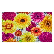 Evergreen Enterprises, Inc Summer Flowers Embossed Doormat