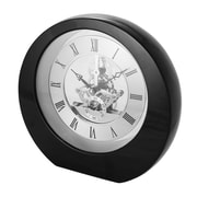 Natico Interactive Gear Table Clock; Black