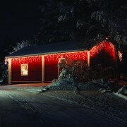 Touch of ECO Icelite Solar Icicle String Lighting