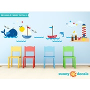 Sunny Decals Nautical Wall Decal