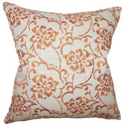 The Pillow Collection Parka Linen Throw Pillow; 18'' X 18''