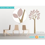 Sunny Decals Modern Tree Wall Decal; Brown
