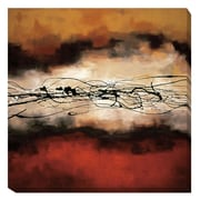 Artistic Home Gallery 'Harmony by Laurie Maitland Graphic Art on Wrapped Canvas