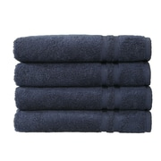 Linum Home Textiles Denzi 4 Piece Hand Towel Set (Set of 4); Twilight Blue