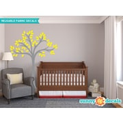 Sunny Decals Beautiful Tree Wall Decal; Yellow