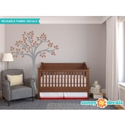 Sunny Decals Beautiful Tree Wall Decal; Brown