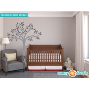 Sunny Decals Beautiful Tree Wall Decal; Charcoal