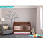 Sunny Decals Beautiful Tree Wall Decal; Gray