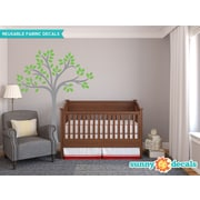 Sunny Decals Beautiful Tree Wall Decal; Green