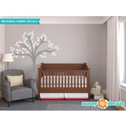 Sunny Decals Beautiful Tree Wall Decal; Light Gray