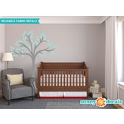Sunny Decals Beautiful Tree Wall Decal; Aqua