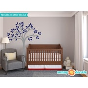 Sunny Decals Beautiful Tree Wall Decal; Navy