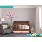 Sunny Decals Beautiful Tree Wall Decal; Pink