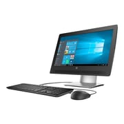"HP® ProOne 400 G2 W5X81UT 20"" LED LCD All-in-One PC, Black/Silver"