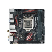 ASUS ® 32GB DDR4 SDRAM Mini ITX Desktop Motherboard, Socket H4 LGA-1151 (Z170I PRO GAMING)