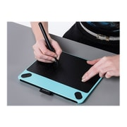Wacom ® Intuos ® Art CTH490AB Pen and Touch Small Tablet, Blue