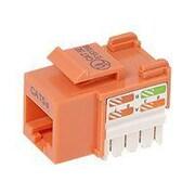 Belkin ™ Cat5e Keystone Jack, Orange (R6D024-AB5EOR25)