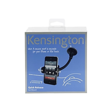 Kensington ® Quick Release Cradle with Mount for iPhone 4 K39256US, Black