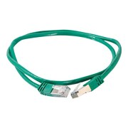 C2G  ® 27264 14' RJ-45 Male/Male Cat5e Molded Shielded Ethernet Network Patch Cable, Green