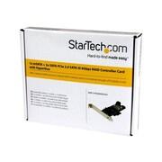 StarTech PCI Express 2.0 SATA III RAID Controller Card (PEXMSATA343)