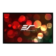 "Elite Screens ® ezFrame Series R100WV1 Fixed Frame Wall Projection Screen, 100"""