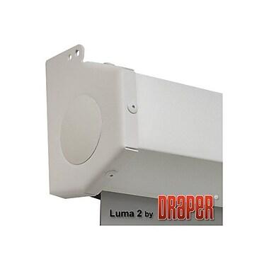 Draper ® Luma 2 206014 Manual Wall/Ceiling Projection Screen, 120