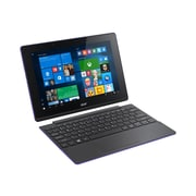 "Acer Aspire Switch 10 NT.G1.WAA.005 10.1"" Net-Tablet PC, 2GB, Windows 10 Home, Black/Purple"