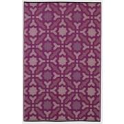 Fab Habitat Rug, 6'L x 9'W, Seville Multicolor Purple (810327024494)