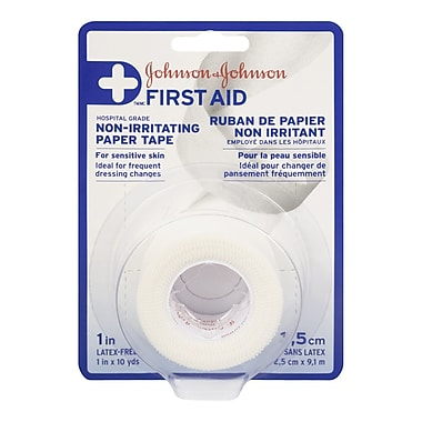 Johnson & Johnson First Aid Non-Irritating Paper Tape