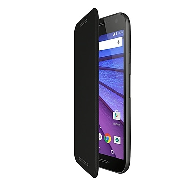 Motorola Flip Shell Case for Moto G, 3rd Gen, Charcoal