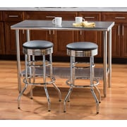 Trinity 30''H Swivel Bar Stool (Set of 2)