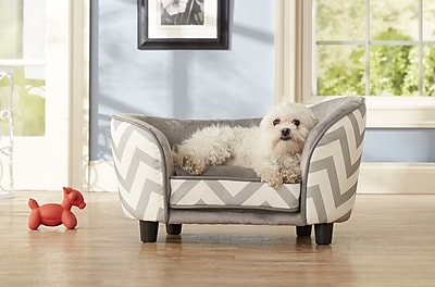 Enchanted Home Pet Chevron Snuggle Pet Bed;