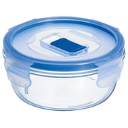 Luminarc Pure Box Active 1.7-Cup Round Storage Box with Lid (Set of 6)