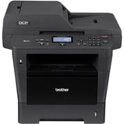 Brother ® EDCP-8150DN Black and White Laser All-in-One Printer, Refurbished