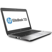 "HP ® EliteBook 725 G3 12.5""W LCD Notebook PC, AMD A10-8700B Quad-Core, 500GB HDD, 8GB RAM, Windows 10 Pro, Silver"