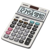 Casio ® JF-100MS 10 Digit Extra Large Display General Purpose Calculator, Gray