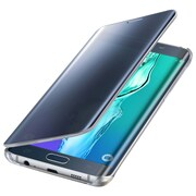 Samsung Folio Flip Cover for Galaxy S6 edge+ S-View, Clear Black Sapphire (EF-ZG928CBEGUS)