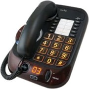 Clarity ® 54005.001 Alto ™ Digital Extra Loud Corded Speakerphone, Silver/Red