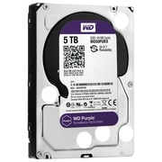 Western Digital ® WD50PURX 5TB SATA 6 Gbps Surveillance Internal Hard Drive, Purple