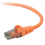 Belkin A3L980-06-ORG-S 6' RJ-45 Male/Male Cat6 Snagless Patch Cable, Orange (A3L980-06-ORG-S )