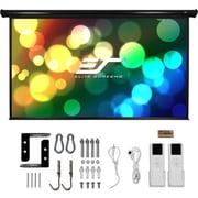 """Elite Screens ® Starling 2 Series ST100XWH2-E24 Electric Wall/Ceiling Projection Screen, 100"""""""