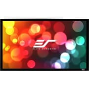 Elite Screens ® SableFrame 2 Series ER165WH2 Fixed Frame Wall Projection Screen, 165""
