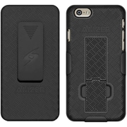 Amzer ® Shellster Holster Carrying Case for iPhone 6, Black (AMZ97274)