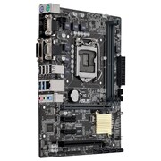 ASUS ® 32GB DDR4 SDRAM Micro ATX Desktop Motherboard, Socket H4 LGA-1151 (H110M-C/CSM)
