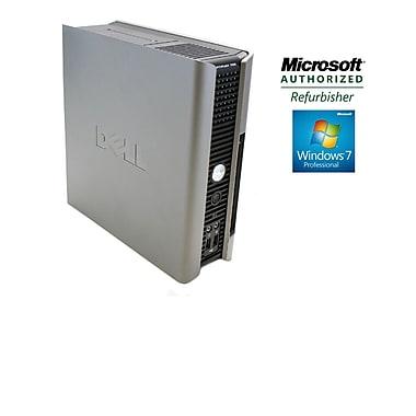 Dell Optiplex Refurbished (755 USFF) Intel Core2 Duo, 4GB RAM, 750GB HDD, DVD-RW, Win 7 Professional 64-bit, English