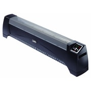 Lasko Silent 1,500 Watt Wall Mounted Electric Convection Baseboard Heater with Thermostat